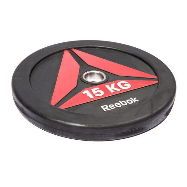 Talerze Reebok Bumper Plate 15kg