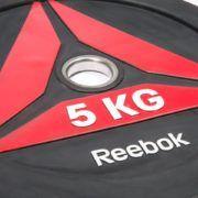 Talerze Reebok Bumper Plate 5kg