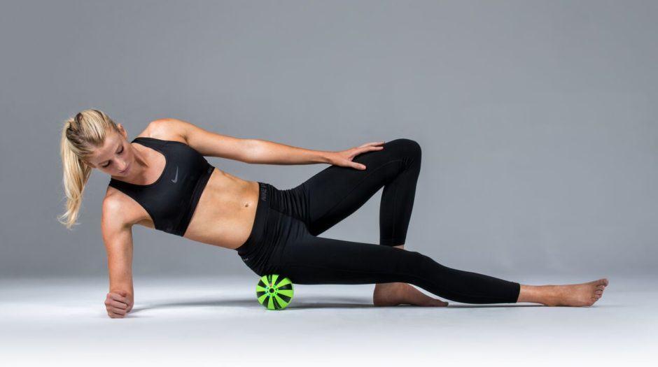 Piłka wibracyjna Hypersphere masaż bioder