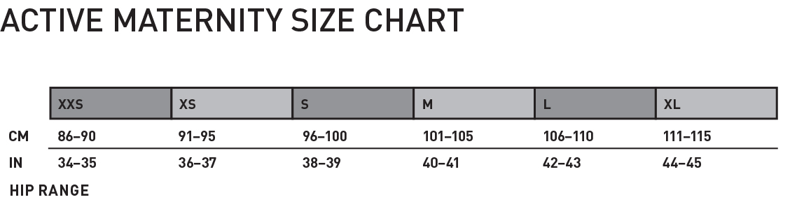 4162016_APPAREL_Active_Maternity_Size_Chart