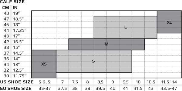 2xu-skarpetki-kompresyjne-mezczyzni-rozmiary