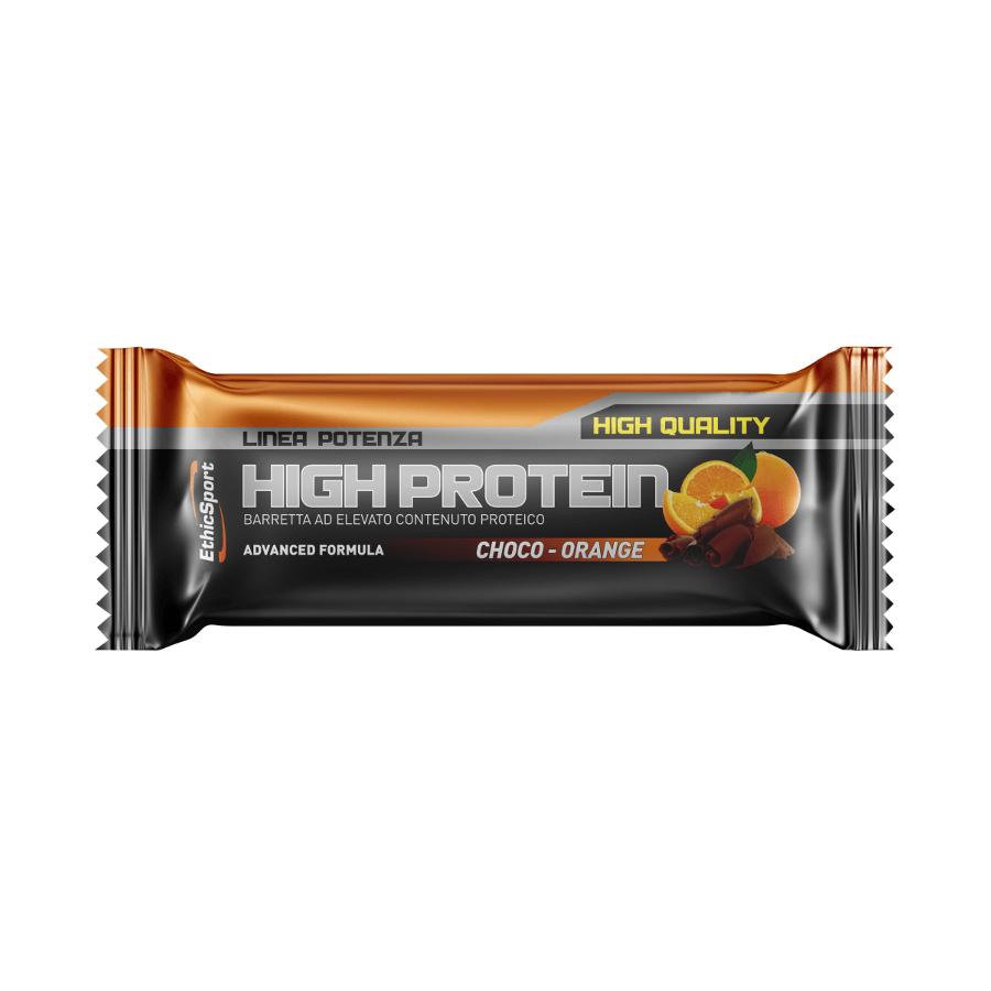 baton proteinowy ethic sport smak czekoladowo-pomaranczowy