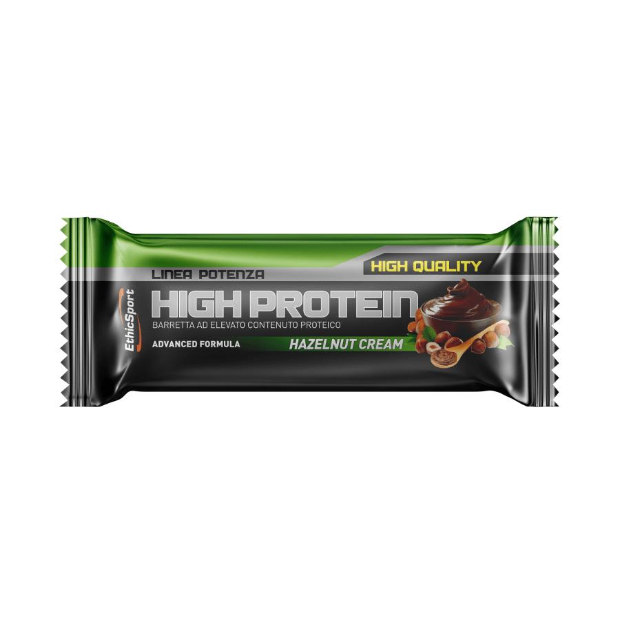 baton proteinowy high protein ethic sport smak orzechy laskowe