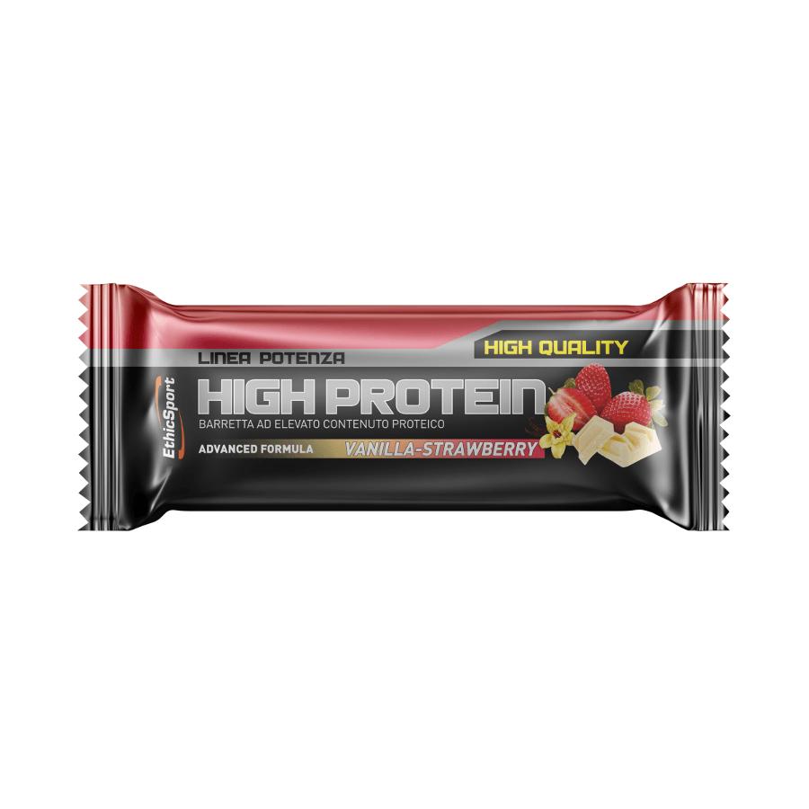 baton proteinowy ethic sport smak waniliowo-truskawkowy