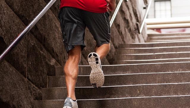 Bieganie po schodach trening cardio