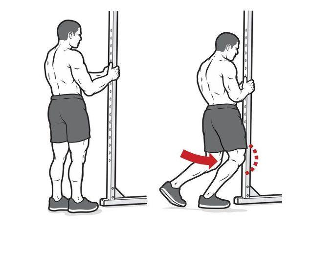 ćwiczenie na mobilność stawu skokowego