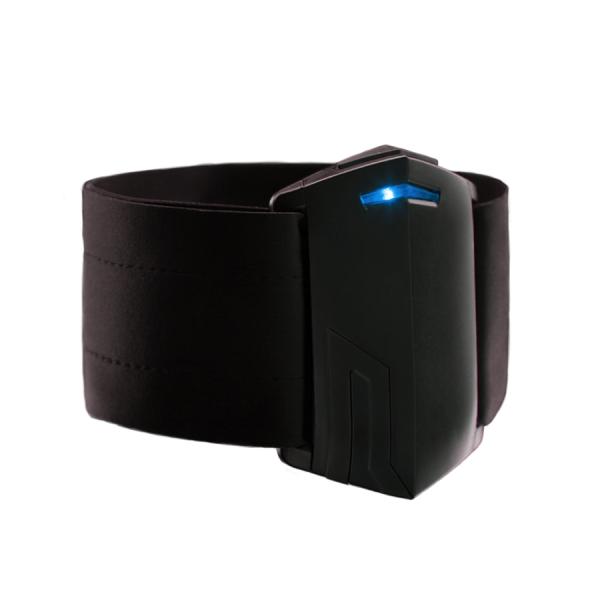 wygląd sensora push band - kolor czarny