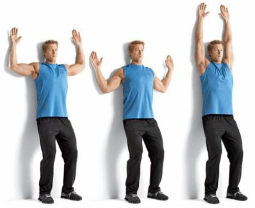 rozciąganie dynamiczne mobilność ramion i barków